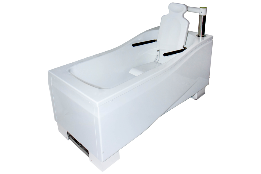 Active bathing compact fixed height bath for Low height bathtub